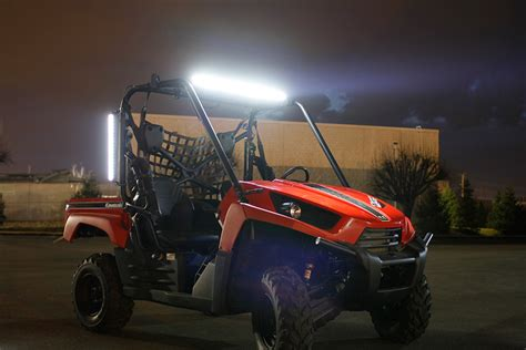 24 quot compact road led light bar 63w 3 528 lumens
