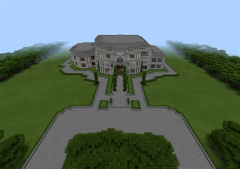 presidential mansion creation minecraft pe maps