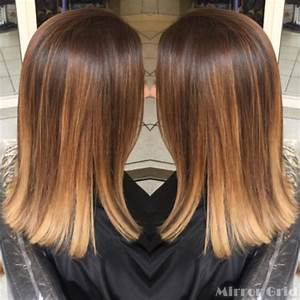 Ombré Hair Chatain : ombre hair sur cheveux lisses merci atmosp 39 hair ~ Nature-et-papiers.com Idées de Décoration
