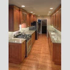 Wide Galley Kitchen Ideas, Pictures, Remodel And Decor