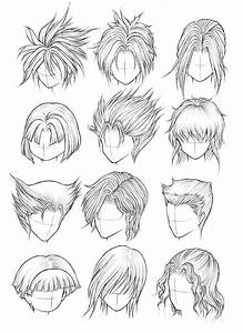 How To Draw Anime Boy Hairstyles