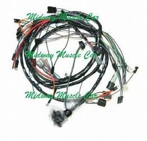 Front End Headlight Lamp Wiring Harness 65 Chevy Chevelle