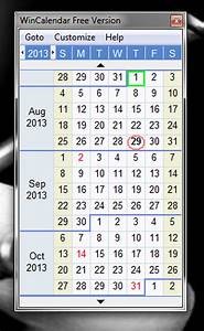 Calender In Excel Five Free But Powerful Desktop Calendars Techrepublic