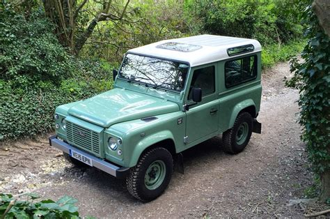 land ro 2016 land rover defender 90 heritage review