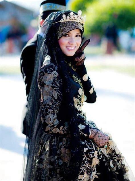 kebaya hitam pengantin yokodwi