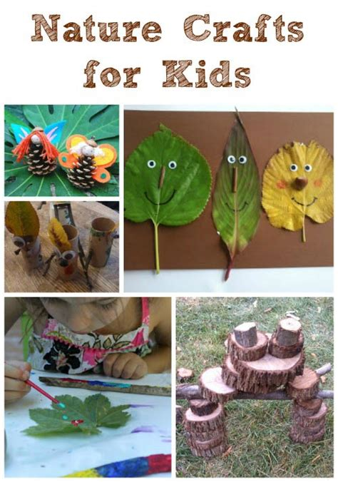outdoor nature crafts for edventures with 685 | naturecrafts