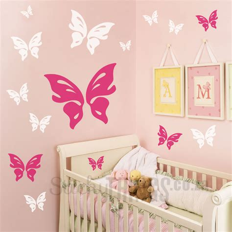 wall applique butterfly wall decal stickythings co za