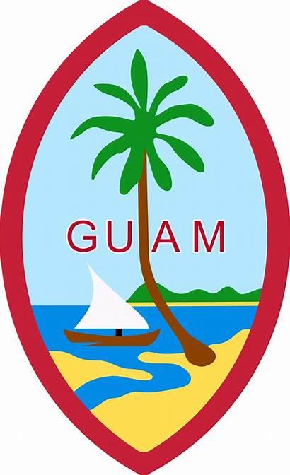 Guam Emblem Official Passport