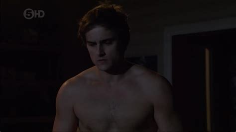 Chris Milligan Shirtless In Neighbours Fit Males