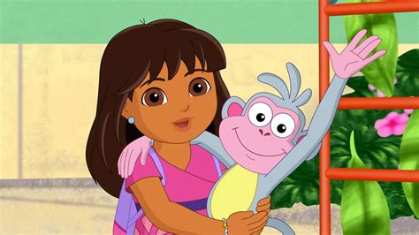 Dora Reunites With Boots, Backpack And Her