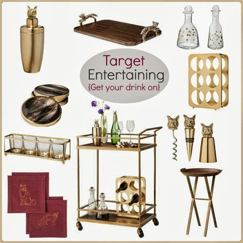 Home Bar Accessories Shop by Tracy S Notebook Of Style Target Entertaining Chic Bar