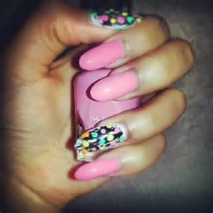 Stiletto nail art designs acrylic