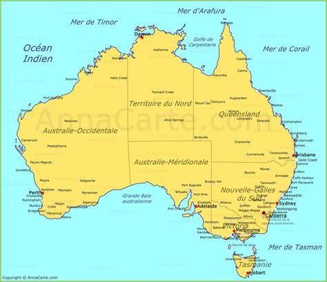 Carte Australie Ville by Carte Australie