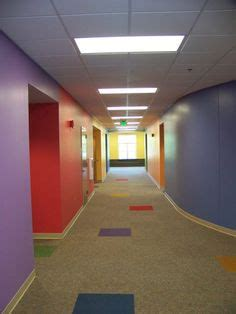 children s ministry hallway bright and cheerful lorelee