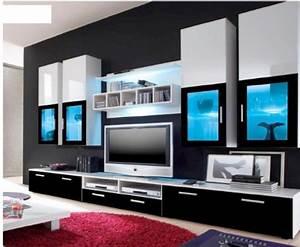 Grand Meuble Tv : grand meuble ~ Teatrodelosmanantiales.com Idées de Décoration