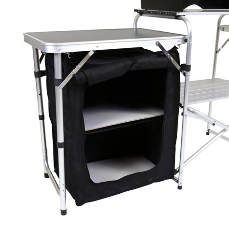 cing cupboard kitchen collapsible organizer charles bentley foldable cing storage unit buydirect4u 8042