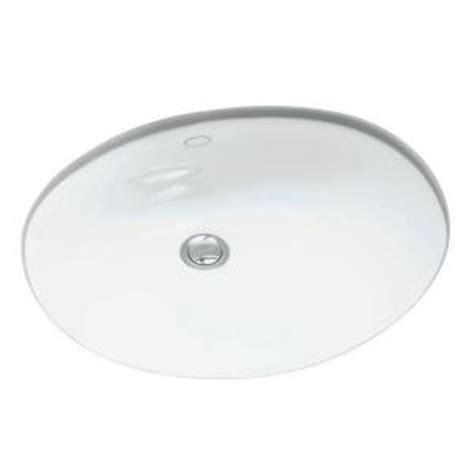 kohler caxton sink 2209 kohler caxton undermount bathroom sink in white k 2209 0