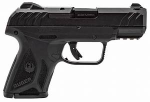 Ruger 3818 Security9 9mm Luger Dao 3 42 U0026quot  10 1 Black Grip