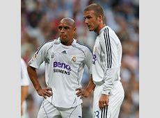 David Beckham better at free kicks than me Roberto