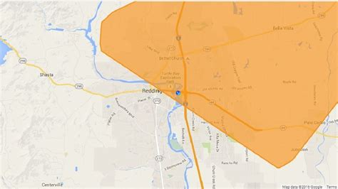 restored power outage  redding krcr