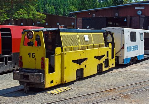 Die Deutz Gg 90 B Gruben-diesellokomotive Nr. 35 Der Fgf