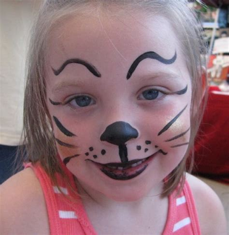 Cat Face Painting For Children Designs, Tips And Tutorials