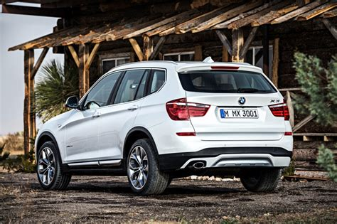 2015 Bmw X3 Suv White Exterior Electric News  The News Wheel