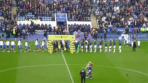 Leicester City vs Everton 2018 - Teams line up and meet ...