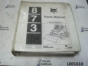 Bobcat 873 Parts Manual