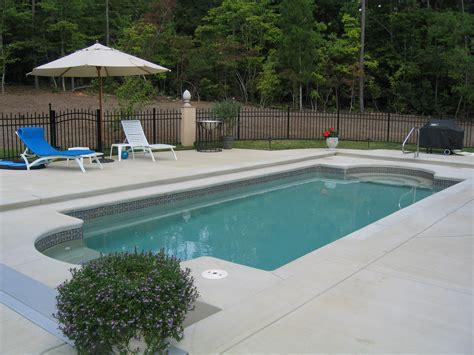 fiberglass pool designs raleigh fiberglass pools in ground above designs