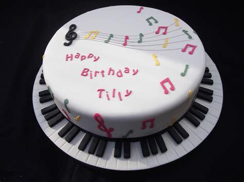 Cakes By Karen Music Themed Birthday Cake