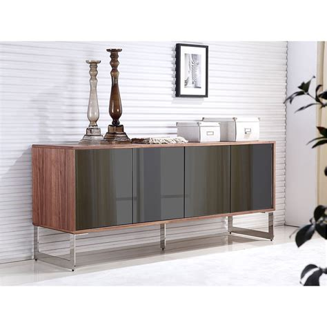 Modern Sideboards   Cuando Walnut Buffet   Eurway