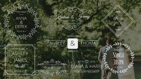 buy after effect logo template psd 14 wedding after effects templates psd ai free