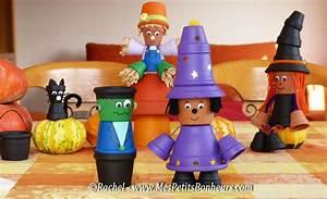 Bricolage Halloween Adulte : sorcier et monstre halloween bricolage en pots de terre cuite sorcieres pinterest ~ Melissatoandfro.com Idées de Décoration