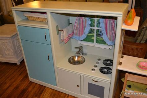 entertainment center kitchen play kitchen with flip table made from