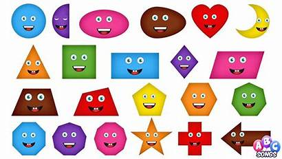 Shapes Clipart 2d Song Children Clip Library