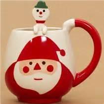 Mug Pere Noel : tasse cr me avec le p re no l cuill re bonhomme de neige tasses mugs bo tes bento boutique ~ Teatrodelosmanantiales.com Idées de Décoration