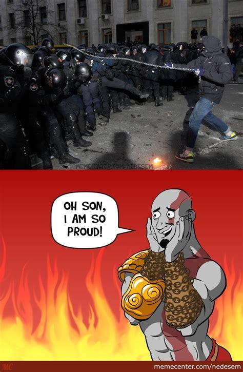 God Of War Memes - kratos is proud by nedesem meme center