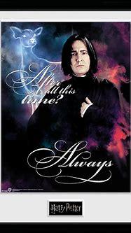 Harry Potter Snape Always Framed Collector Print