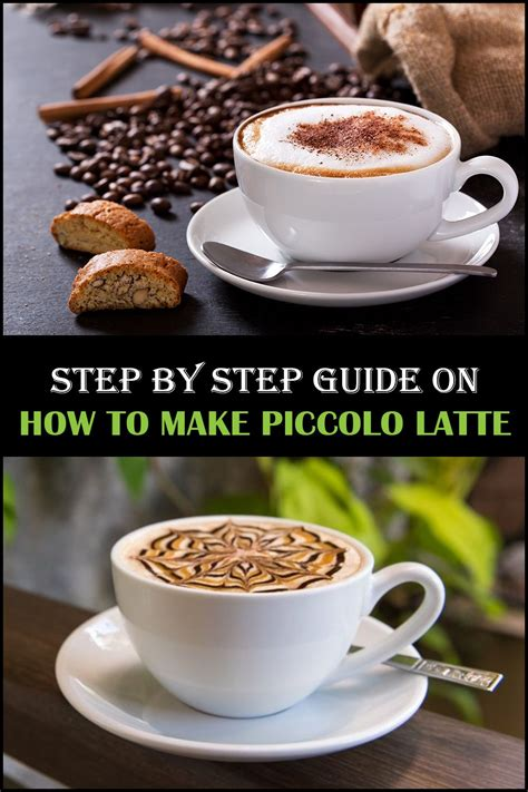 Vector chalk drawn sketch of piccolo latte coffee recipe in disposable cup takeaway on chalkboard background. Easiest Step by Step Guide for Making Piccolo Café   Get a Coffee Maker   Coffee recipes, Coffee ...
