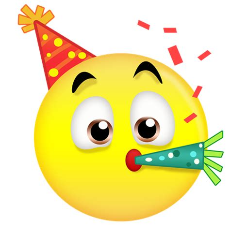 emoji party hat pictures to pin on pinterest pinsdaddy
