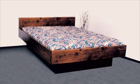 Waterbed Headboards King Size by 5 Board Solid Wood Hardside Waterbed Free Shipping