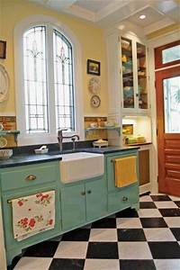 best 20 vintage kitchen ideas on pinterest With best brand of paint for kitchen cabinets with burgundy wall art