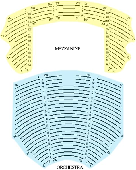 cadillac palace theatre master theater seating charts cadillac theater chicago view from seats at metlife