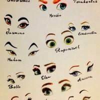 [ディズニー]ディズニープリンセスの目の描き方教え... - LINE Q