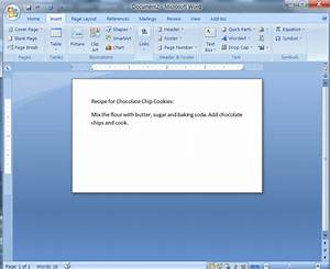 Create Index Cards In Ms Word