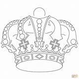 Crown Coloring Pages Royal Royals Printable Crowns Kansas King Jewels Drawing Adults Supercoloring Getdrawings Princess Coloringhome Whitesbelfast Getcolorings sketch template