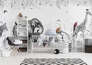 Au Fil Des Couleurs Papier Peint : papier peint panoramique metrozoo par au fil des couleurs ~ Melissatoandfro.com Idées de Décoration