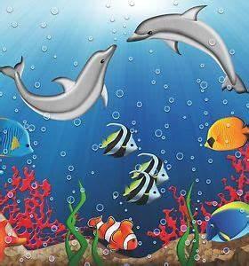 Bilder Mit Fischen : vlies fototapete f r kinder unterwasserwelt fische delfine meer ebay ~ Frokenaadalensverden.com Haus und Dekorationen