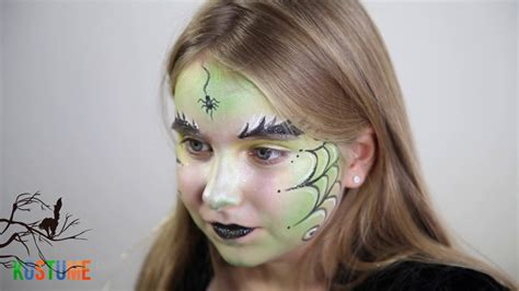 hexen make up bilder tutorial kinderschminken hexe